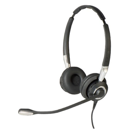 Refurbished Jabra Biz 2400 Ii Duo Noise Canceling Usb Headset W Hd Voice Clarity Walmart Com Walmart Com