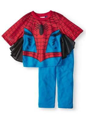 Spider-Man Short Sleeve Costume Play Pajamas, 2-piece Set (Toddler Boys)