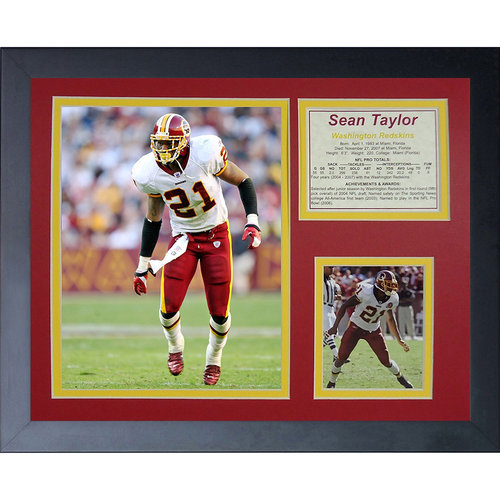 Sean Taylor Home Framed Photo Collage, 11x14, by Legends Never Die
