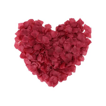 500pcs silk flower rose petals wedding party decorationdark 500pcs silk flower rose petals wedding party decorationdark burgundy mightylinksfo