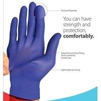 Flexal Feel Nitrile Exam Gloves ''X-Large, 100 count''