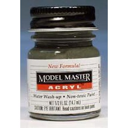 Navy Gloss Gray Testors Acrylic Plastic Model Paint