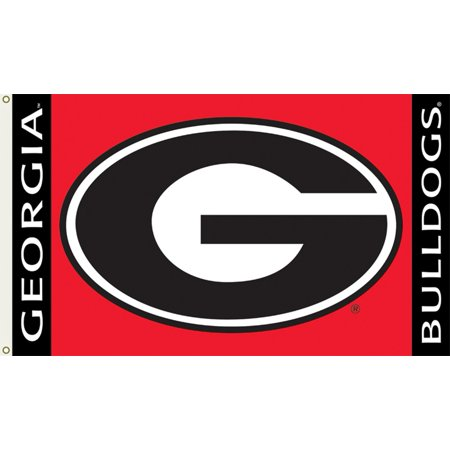 University of Georgia Logo Flag (Six Flags Halloween 2017 Georgia)
