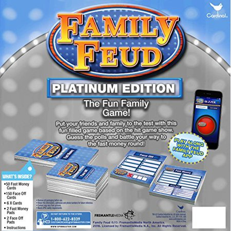 Cardinal Platinum Family Feud Signature Game | Walmart Canada