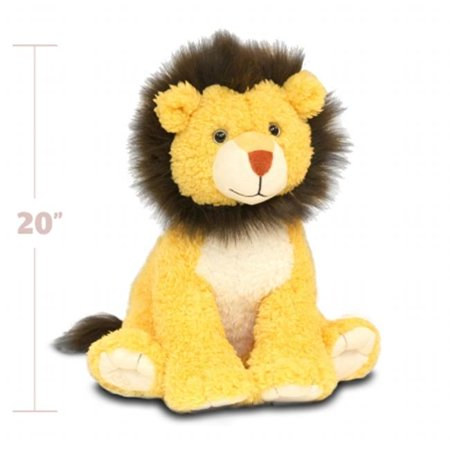 Beverly Hills Teddy Bear Company 8181 Worlds Softest Plush 20 in. Lion Worlds Softest Plush (Softest Toy Bow)
