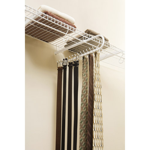 Rubbermaid Sliding Tie and Belt Rack