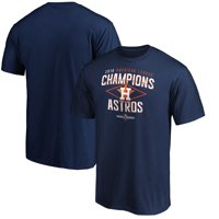 Houston Astros Majestic 2019 American League Champions Bench Coach T-Shirt - Navy