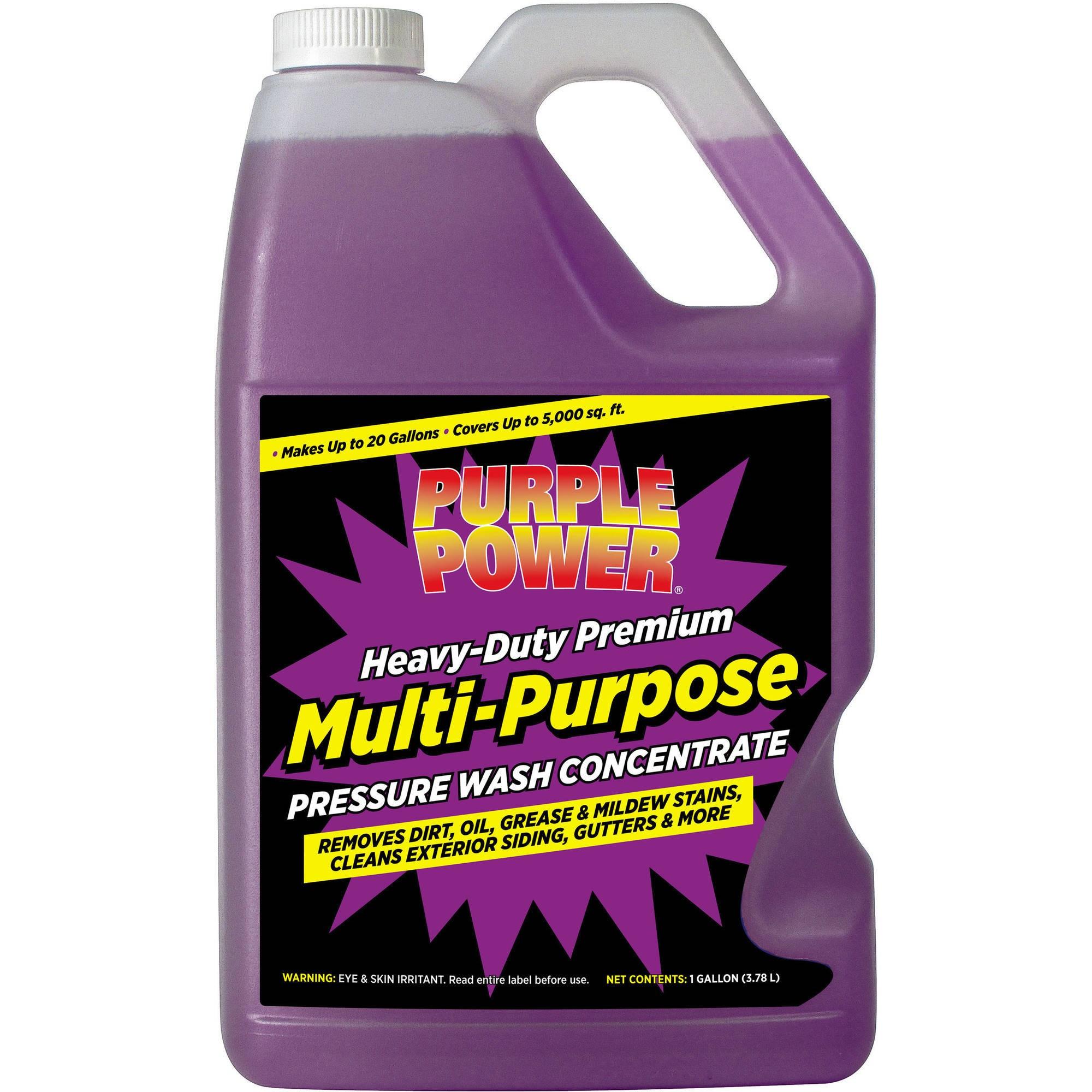Purple Power Heavy-Duty Premium Multi-Purpose Pressure Wash