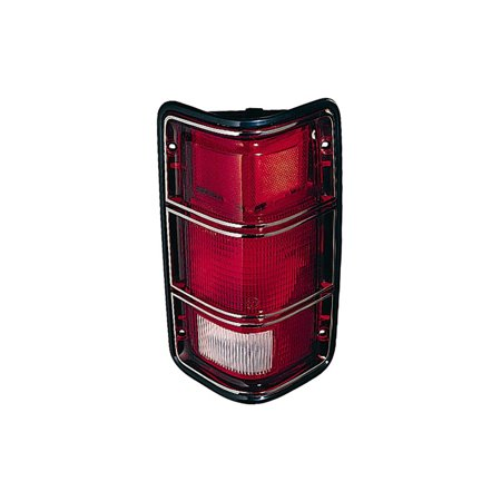 Replacement Depo 333-1902R-US23 Right Tail Light For D50 W150 W100 W250 D400 Dodge D50 Tail Light
