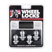 Gorilla Automotive 96641DX Chrome Factory Style Wheel Lock Set (14mm x 1.50