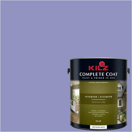 KILZ COMPLETE COAT Interior/Exterior Paint & Primer in One #RB150-02 Lavender Glow