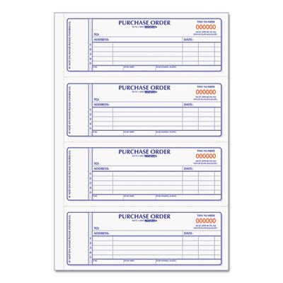 Rediform Purchase Order Book by