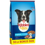 Kibbles `n Bits Original Bonus Bag Dry Dog Food, 50 Lb