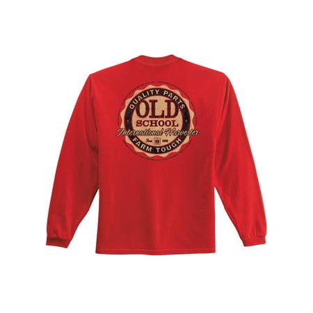 Old School Ih - CASE IH International Harvester Adult Long Sleeve