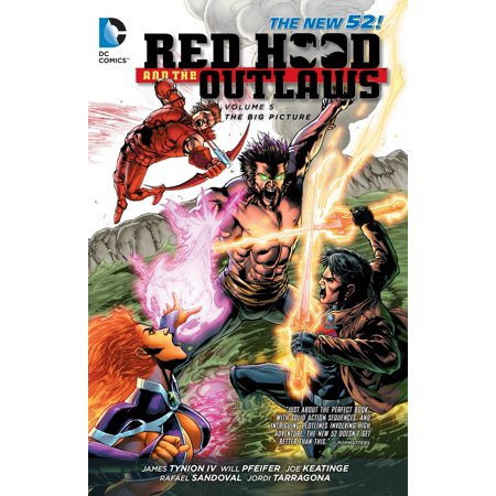 Red Hood and the Outlaws Vol. 5: The Big Picture (The New