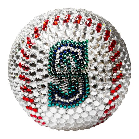 Seattle Mariners Crystal Baseball