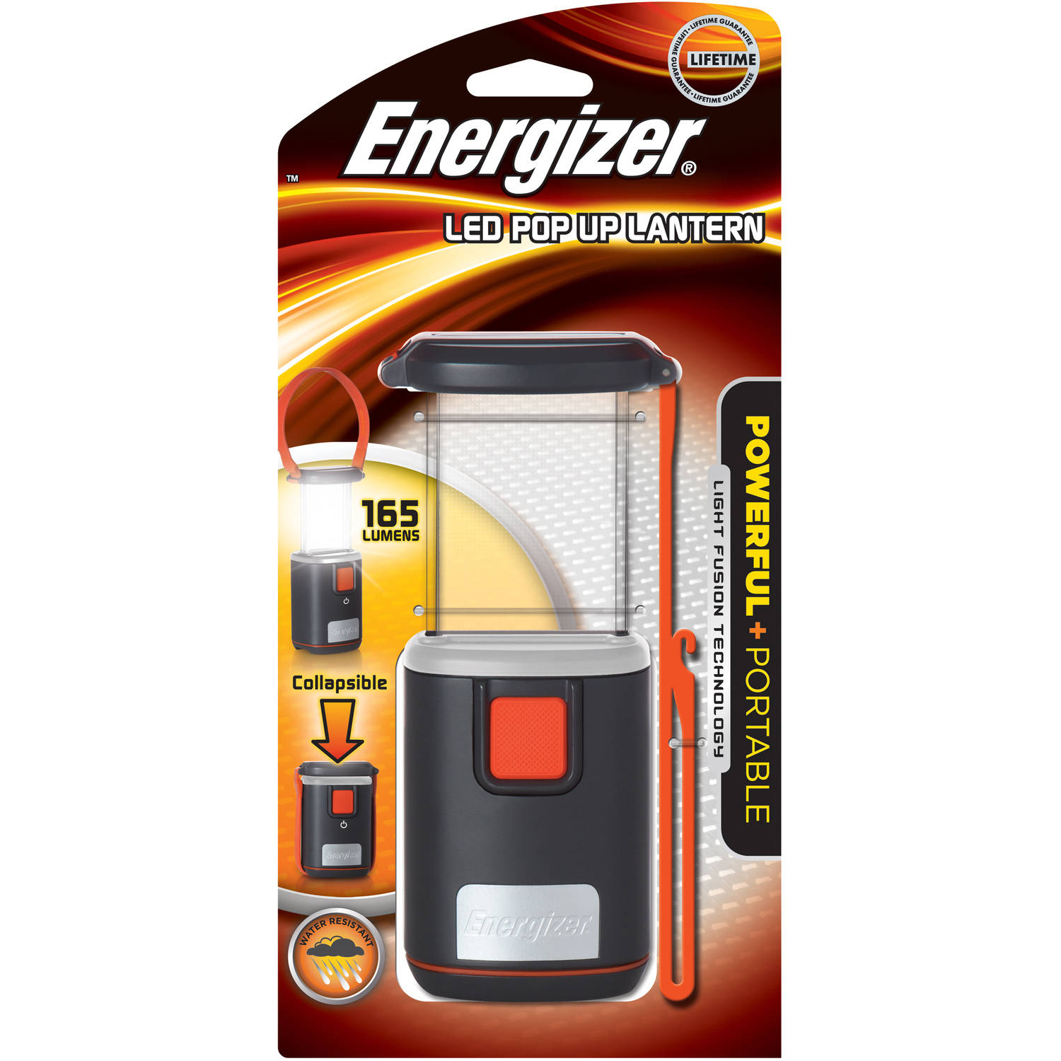 Energizer Fusion Pop-Up Lantern, 180 Lumens
