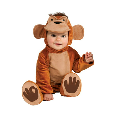 Funky Monkey Baby Infant Costume - Infant (Toddler Monkey Costumes)