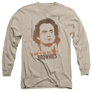 Taxi Blame It On The Brownies Mens Long Sleeve Shirt