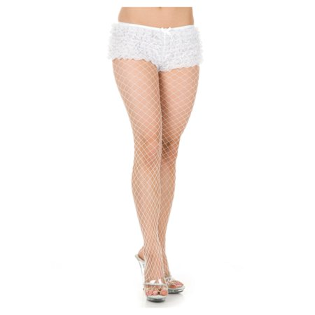 Womens 2-8  White Costume Accessory Tanga Ruffle Hot Pants Boy - Ruffle Tanga Shorts