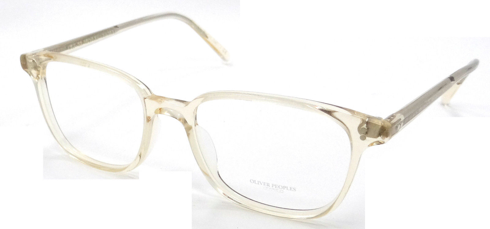 4b0b1dfa9c Oliver Peoples OV 5279U Maslon 1094 Translucent Buff Eyeglasses -  Walmart.com