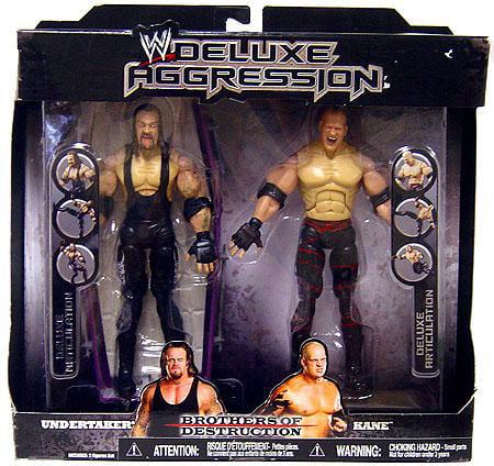 Jakks Undertaker & Kane Action Figure 2-Pack Brothers of ...
