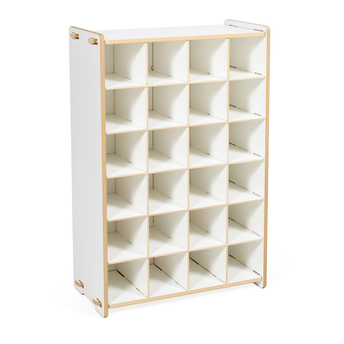 Kids Shoe Organizer - White
