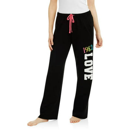 d4b070ed4e7 No Boundaries - Juniors  Pajama Fleece Sleep Pant - Walmart.com