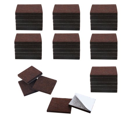 Chair Leg Pads (40pcs Felt Furniture Pads Square 3/4