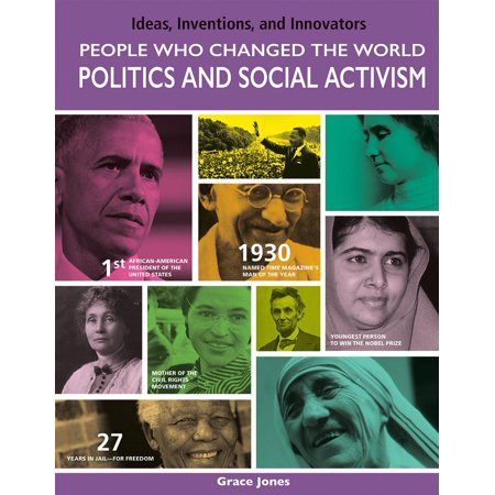 Ideas, Inventions, and Innovators: People Who Changed the World: Politics and Social Activism (Paperback) - Halloween Ideas For 3 People