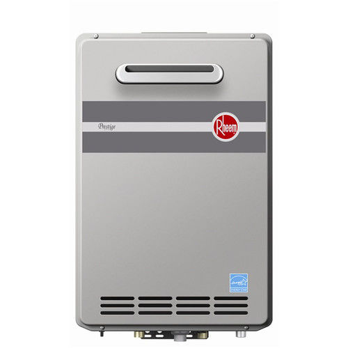 Rheem RTGH-84XLN 8.4 GPM Outdoor Tankless Low Nox Water Heater (NG)