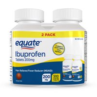 Equate Ibuprofen Tablets 200 mg, Pain Reliever/Fever Reducer (NSAID), 500ct