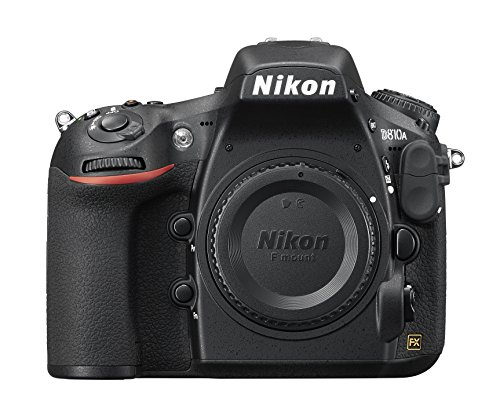 Nikon D810A FX-format DSLR Body Only for Astrophotography, 36MP, up to 15 minute Exposures