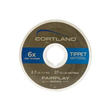 CORTLAND FAIRPLAY NYLON TIPPET 6X