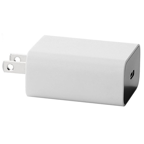 Google OEM 18W USB-C (Type C) Power Adapter Wall Charger - Light Gray
