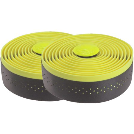 Cinelli Fluo Bicycle Handlebar Tape Black Yellow Road Fixed Track Drop Bars Bike