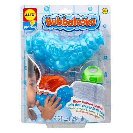 ALEX Toys Bathtime Fun Bubbalooka Bubble Snake