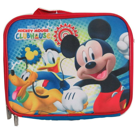 Disney Mickey Mouse Insulated Lunch Bag Lunch Box