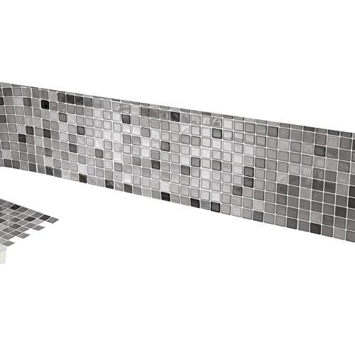 Mosaic Backsplash Tiles Set Of 6 Black And White Walmart Com