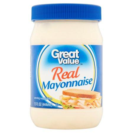 Great Value Real Mayonnaise  15 Fl Oz