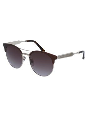 1843fb6a94836 Product Image Gucci GG0075S Sunglasses 004 Burgundy Grey Gold   Grey Lens  56 mm