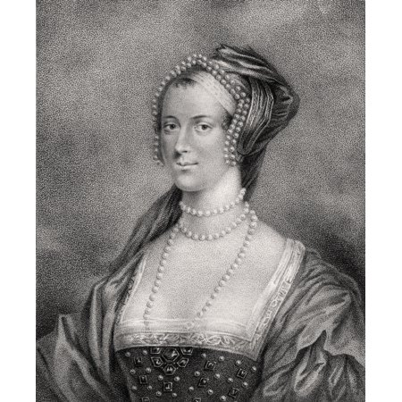 Anne Boleyn Also Spelled Bullen 1507 1536 Second Wife Of Henry Viii Engraved By Bocquet From The Book A Catalogue Of The Royal And Noble Authors Published 1806 Posterprint