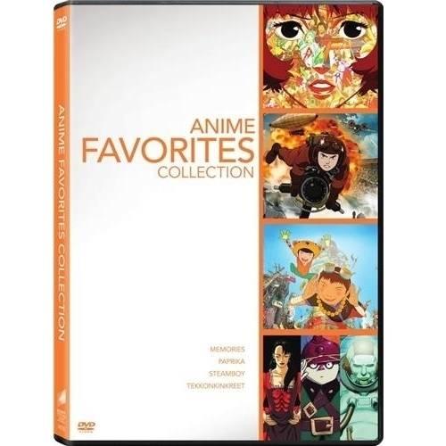 Anime Favorites Collection: Memories   Paprika   Steamboy   Tekkonkinkreet by Sony Pictures