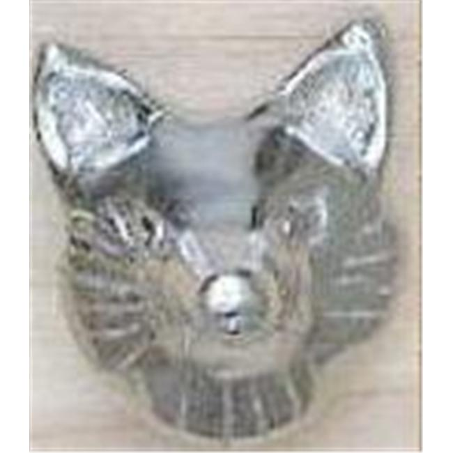 Mayer Mill Brass - FHDP-C - Fox Head Drawer Pull - Chrome
