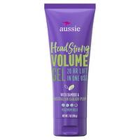 Aussie Headstrong Volume Gel, Volumizing Hair Gel, 7.0 oz