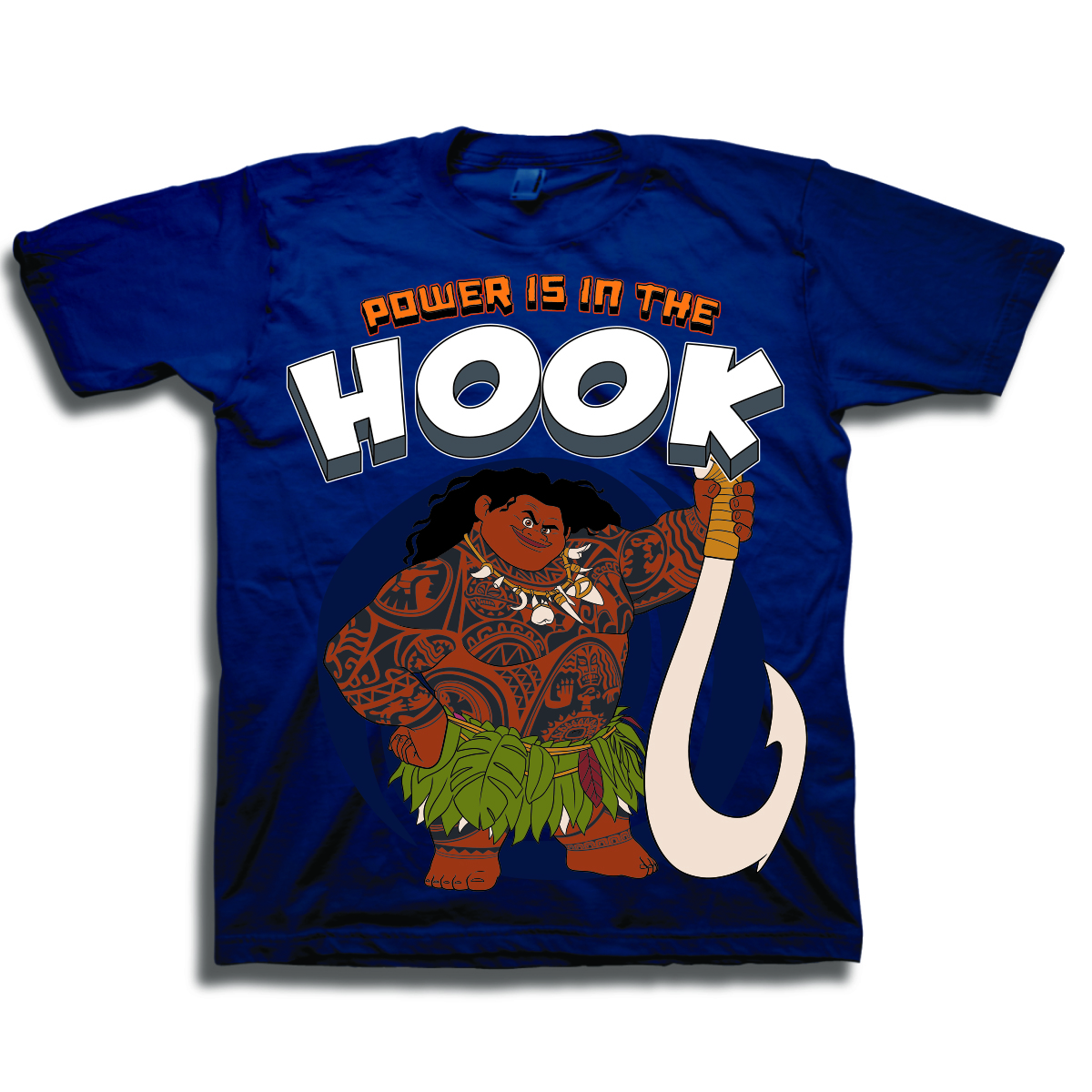 Toddler Boys' Maui Power is in the Hook Short Sleeve Graphic T-Shirt