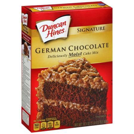 Duncan Hines German Chocolate Cake Mix Cookies