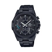 Best Casio Smartwatches - Casio Men's Black IP Slim Edifice Chronorgraph Watch Review
