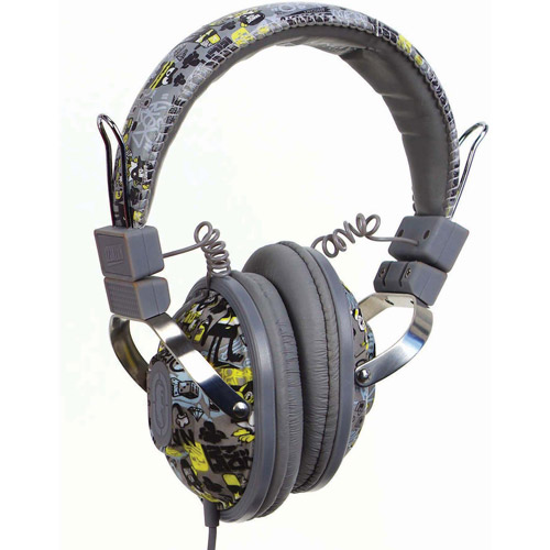 Mizco Exhibit On-Ear Headphones, Grey