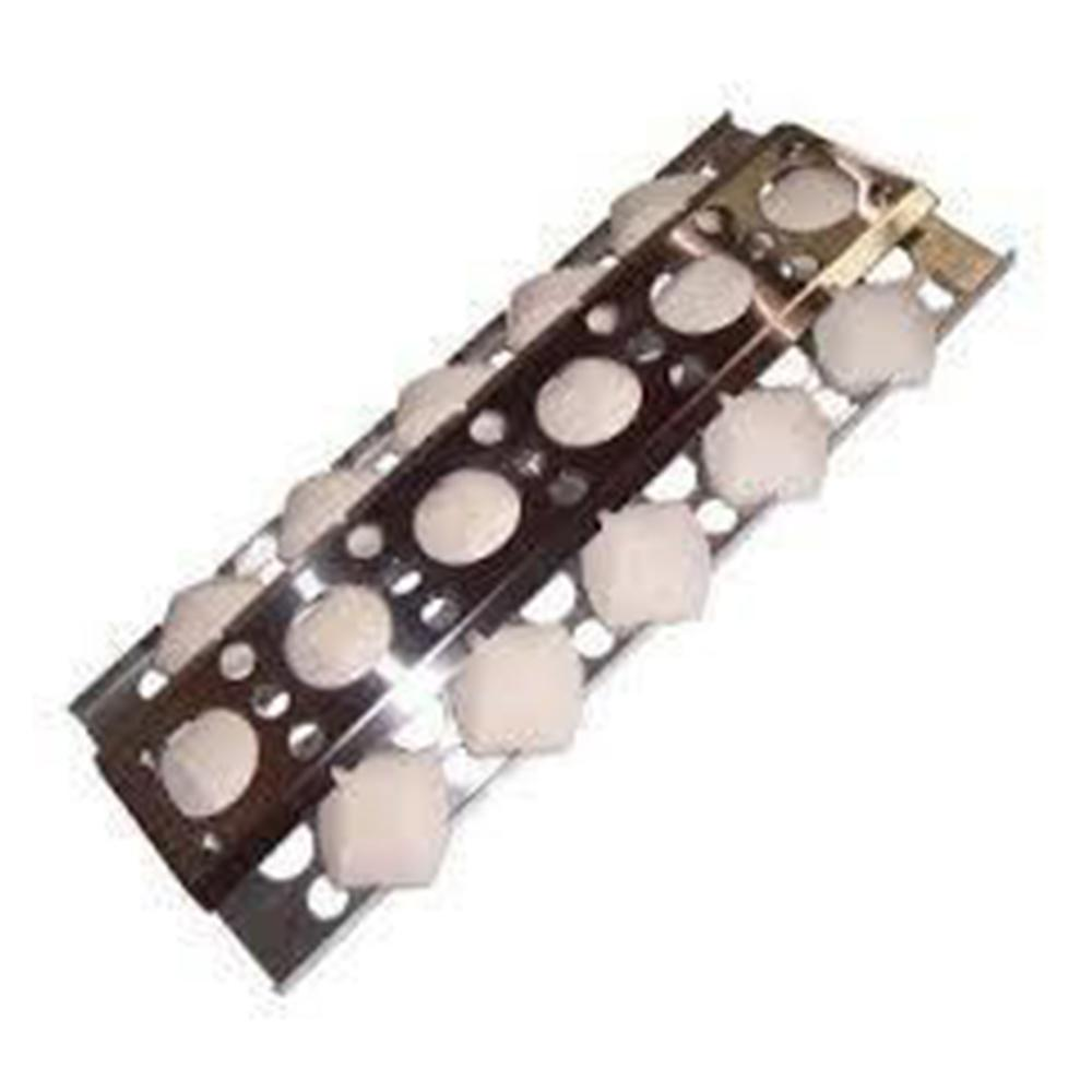 """BBQ Grill BBQ Galore/Turbo Single Flame Tamer Stainless Steel Heat Plate 6 1/2"""" x 16 1/2"""" BCP4751 -"""